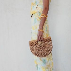 Beautiful bamboo bag